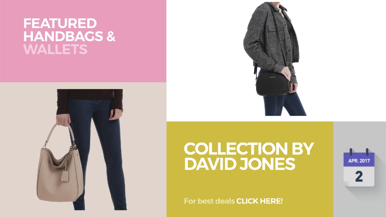 Collection By David Jones Featured Handbags & Wallets