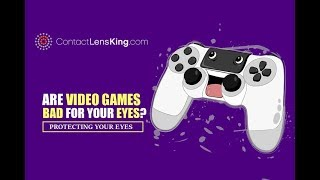 Are Video Games Bad For Your Eyes: Protecting Your Eyes From Computer Screens