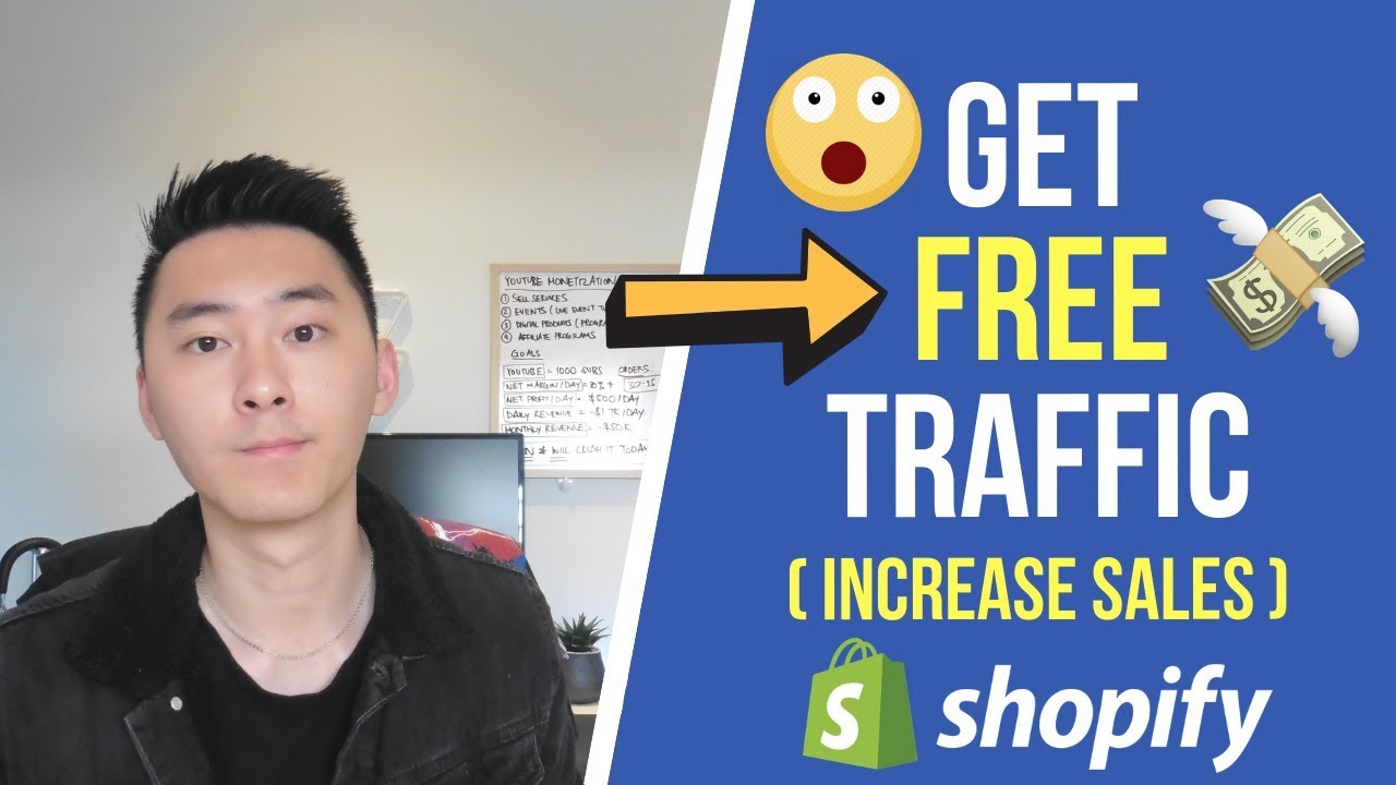 How to Get FREE Traffic to Your Shopify Store | 4 Ways to Drive Traffic (2019)
