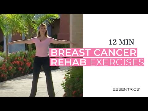 15-minute Breast Cancer Rehabilitation Essentrics Exercises #2