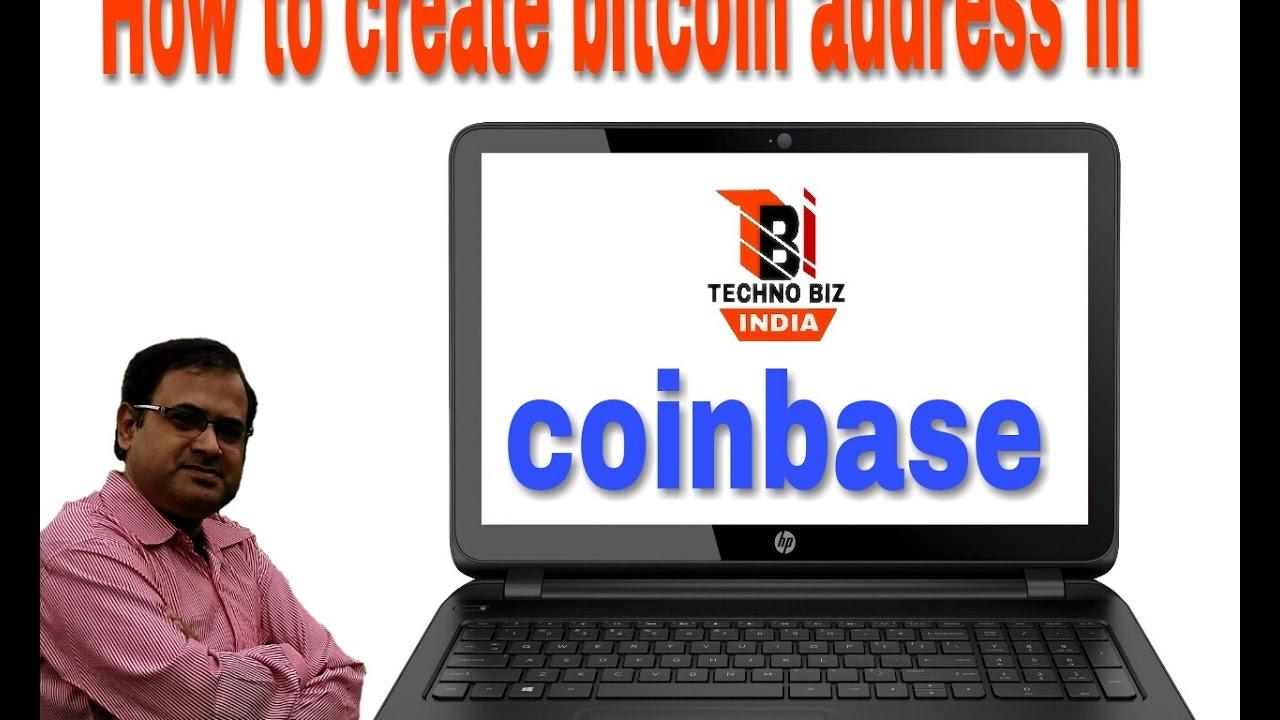 create bitcoin address