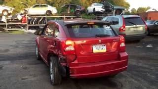 Dodge Caliber 2010 за 575$ drivetest перед разбором(В связи с понижением цен на автомобили в США, связанным с уменьшением покупательского спроса россиян, есть..., 2016-07-23T01:03:51.000Z)