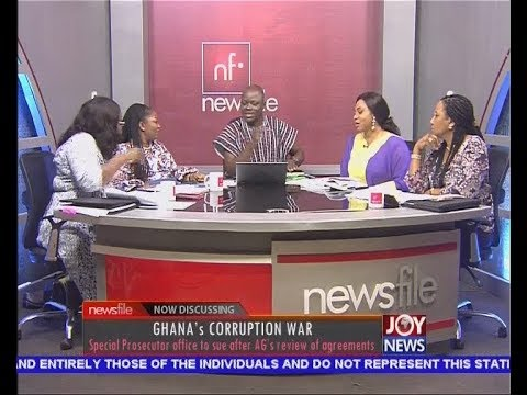 Ghana's Corruption War PT2 -  Newsfile on JoyNews (18-11-17)