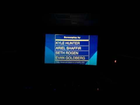Sausage Party Credits