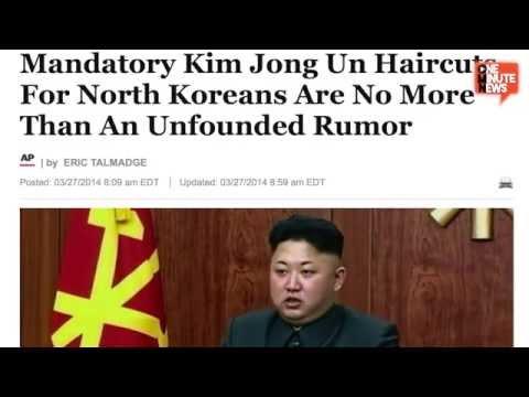 Kim Jong Un Haircuts For Everyone! It's Socialist Style, Yo.