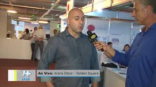 Cobertura TV+ Arena Decor no Golden Square Shopping