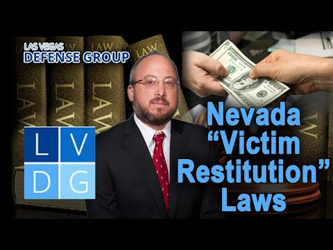 Can I go to jail for not paying restitution in Nevada?