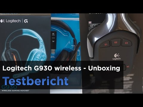 Gaming-Headset Logitech G930 im Test - Unboxing