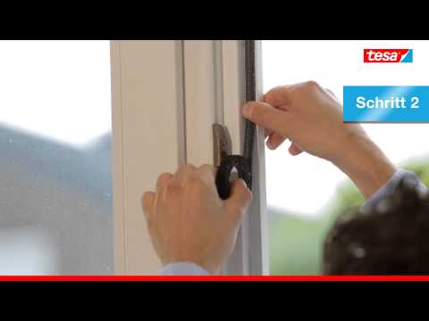 tesa fliegengitter f r fenster mit sonnenschutz ean 4042448857637 youtube. Black Bedroom Furniture Sets. Home Design Ideas