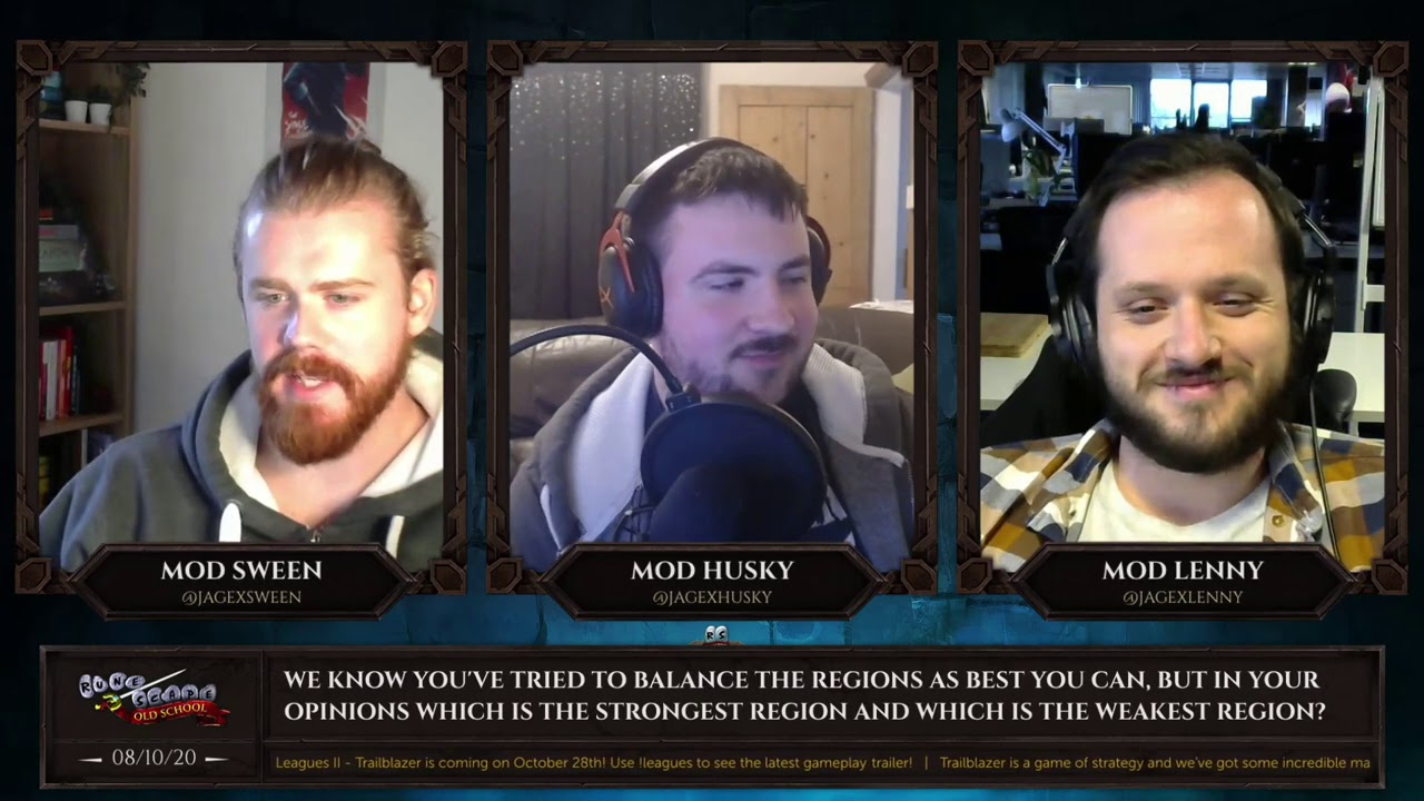 Runescape Halloween Event 2020 October 8th OSRS Modcast (Q&A) October 8th: Leagues II Areas, Soul Wars, and