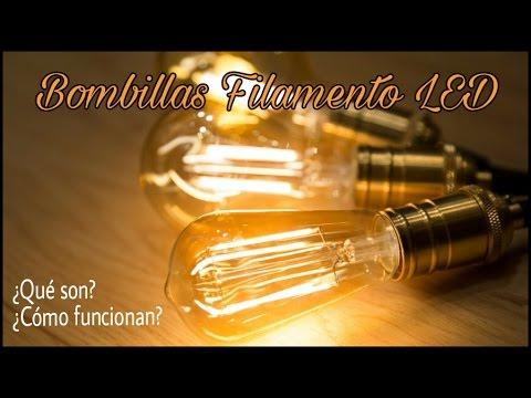 Bombillas de filamento led caracter sticas y aplicaciones - Caracteristicas bombillas led ...