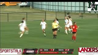 Norman North Girls Soccer Highlights vs Mustang (4-20-18)
