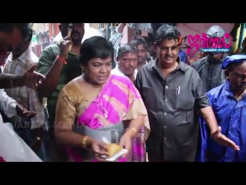 Chennai Flood | Vasanthi Stanley at Work
