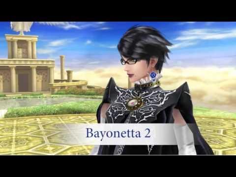Bayonetta Gameplay & Stage Breakdown! Super Smash Bros 3DS & Wii U