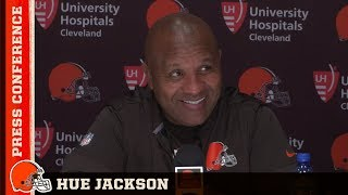 Hue Jackson: Baker Mayfield is our starting quarterback   Cleveland Browns