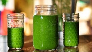 Super Green Smoothie for Weight Loss & Glowing Skin!