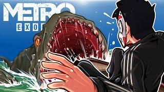 Metro Exodus - EVERYTHING WANTS TO EAT ME! Ep. 2!