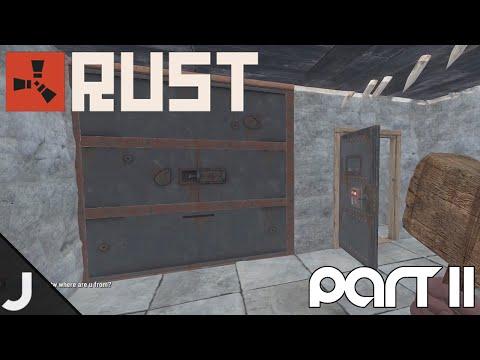 Rust Gameplay - Part 11 - Making A Vault!