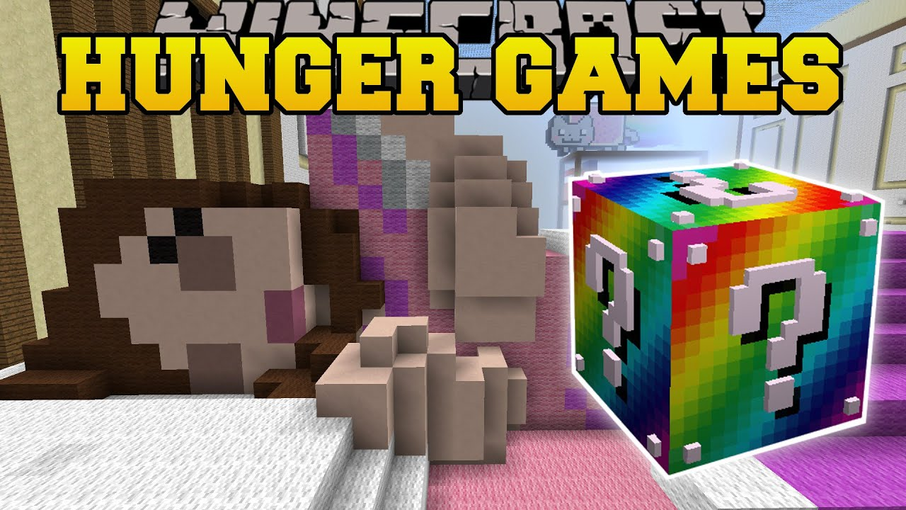 Minecraft: GAMINGWITHJEN'S BEDROOM HUNGER GAMES
