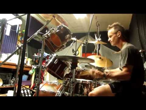 Boogie Nights, Heatwave Drum Cover Intro Practice in HD by Alan Badia