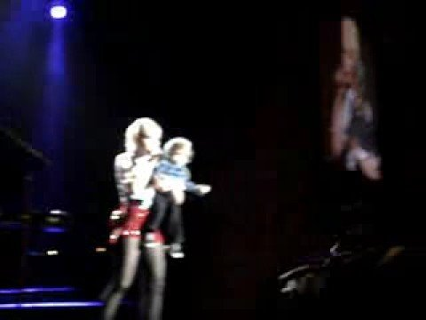 Gwen's Son Kingston on Stage
