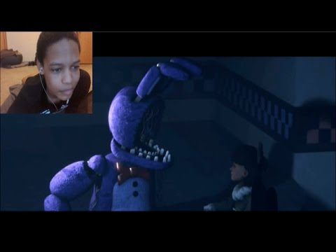 [FNAF SFM] Bonnie's Face REACTION | HAPPY ENDING