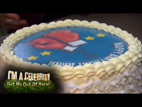 Amir Gets a Special Jungle Birthday Cake! | I'm A Celebrity… Get Me Out Of Here!