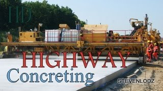 Highway - Concrete - Construction of roads and motorways in Poland