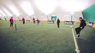 Ultimate football tennis