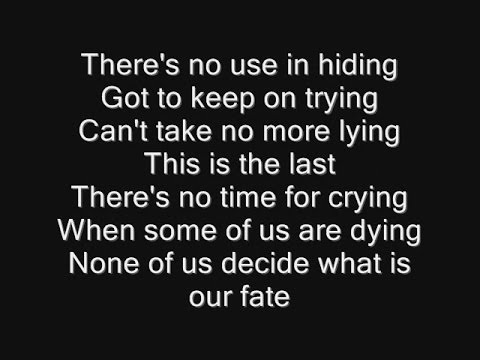 Iron Maiden - When The River Runs Deep Lyrics