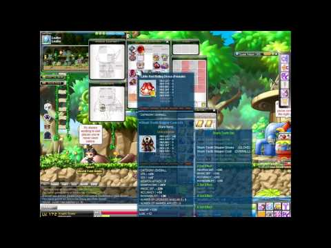 Maplestory chaos scrolling lvl 140 armour, enhancing heliseum belt, weapon,gloves, weapon.
