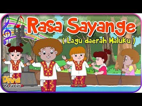 RASA SAYANGE | Lagu Daerah Maluku | Diva bernyanyi | Diva The Series Official