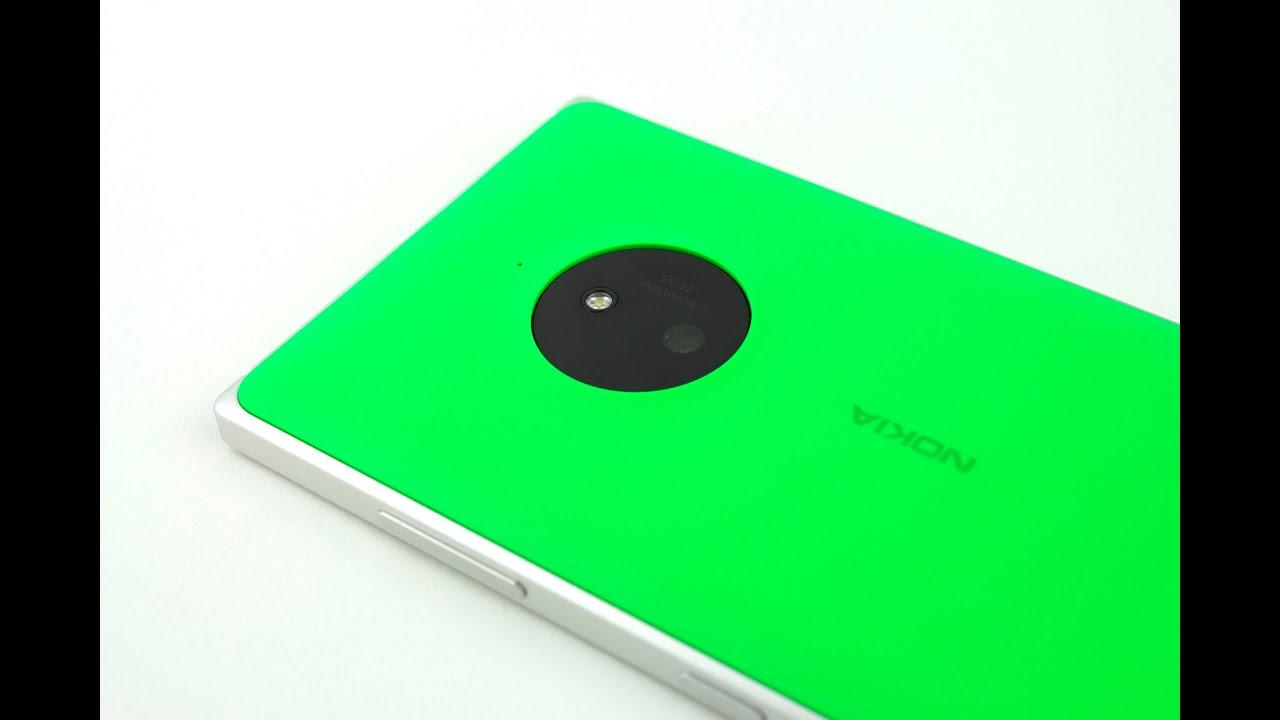 Test: Lumia 830