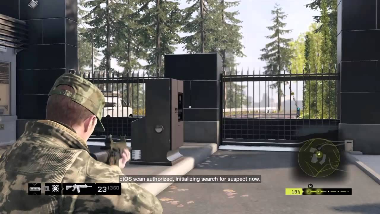 how to get gate open in firewatch