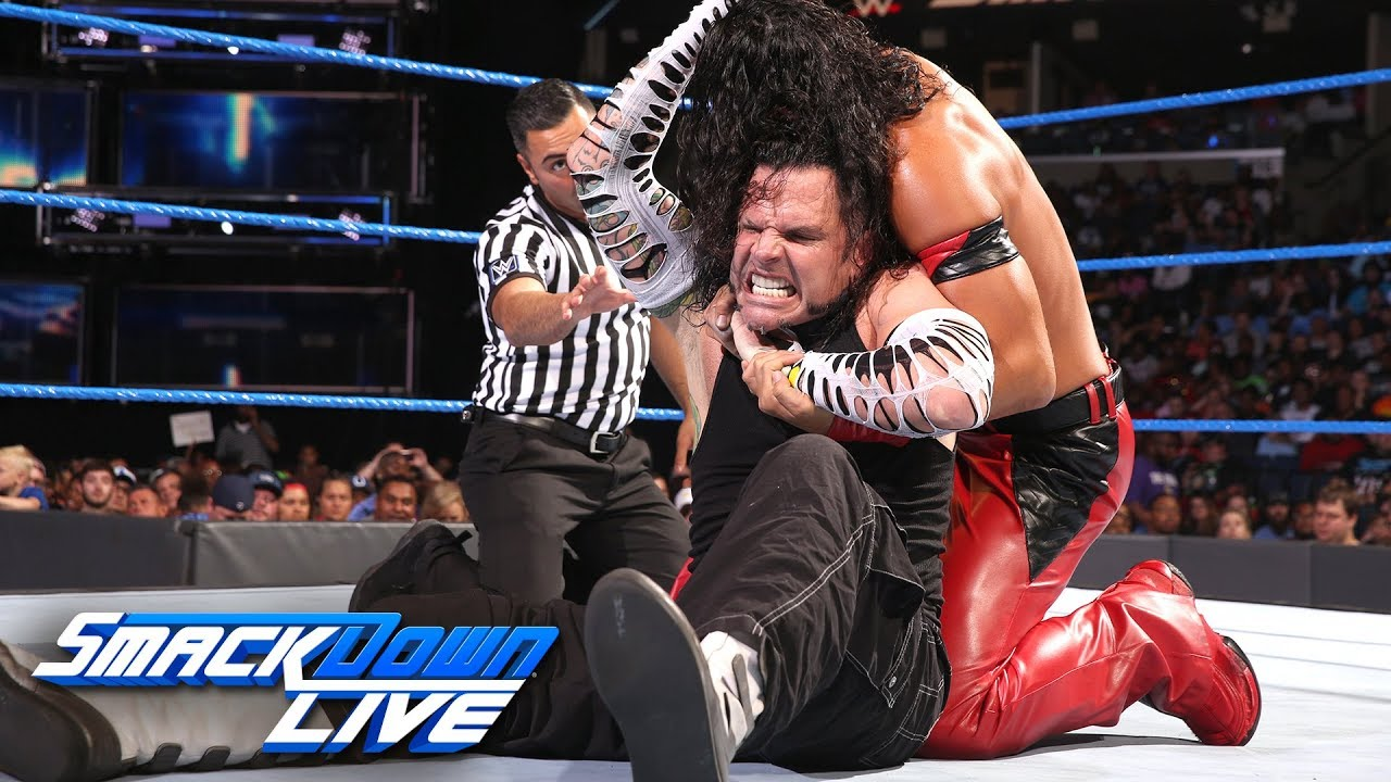 Lucha Libre Youtube Jeff Hardy Vs Shinsuke Nakamura Smackdown Live June 12 2018