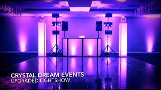 Crystal Dream Events - Elegant Package | Upgraded Mobile Light Show