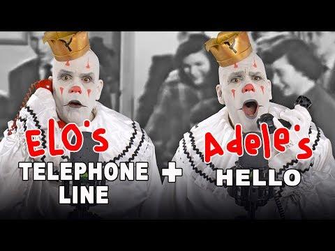 TELEPHONE LINE / HELLO  (ELO & Adele Smoosh-Up)