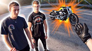 MOJI FÄHRT EURE BIKES! | Harley Davidson Breakout