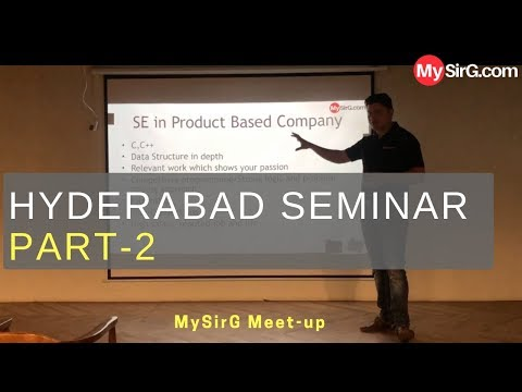 how-to-prepare-for-product-based-companies?-|-hyd-seminar-part-2-|-mysirg