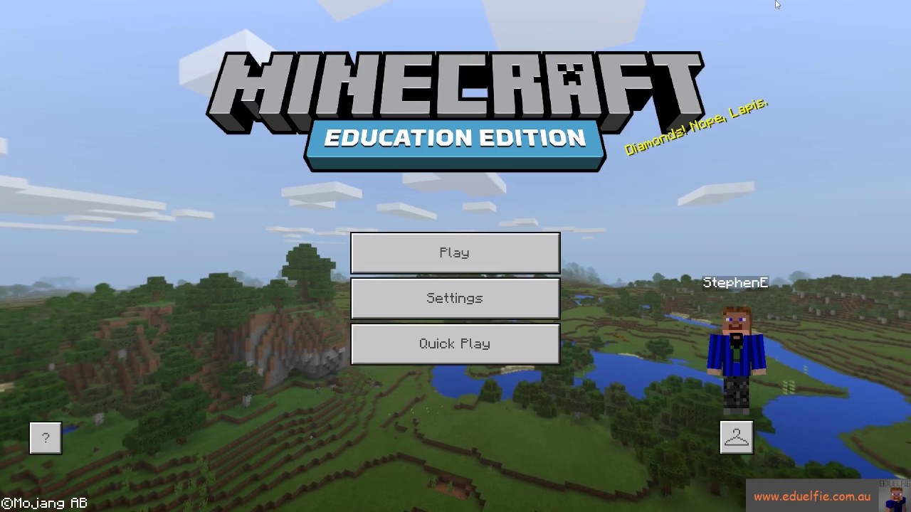 Minecraft Education Edition Tutorial: Class Skin Pack YouTube