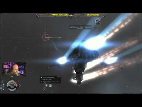 EVE Online Level 5 Missions Frigate Fleet - EVE Live Day 4 of 30