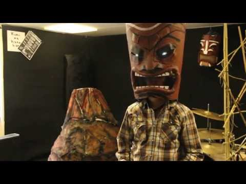 How To Make A Large Volcano - The Tiki Kings