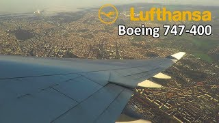 """MISSED"" THE RUNWAY! Lufthansa Boeing 747-400 ONBOARD Takeoff …"