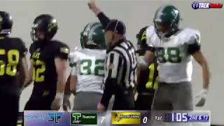 Thatcher vs Round Valley Football Highlights!