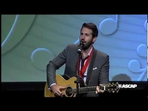 "Josh Kelley - ""I See Love"" at the 2012 ASCAP Film/TV Awards"