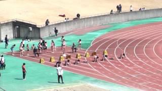 2017静大春季サーキット 女子100m 13組~15組