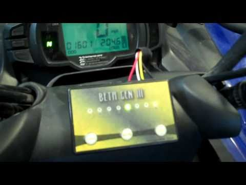 Yamaha 700 Grizzly Install - YouTube