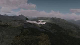 Prepar3D V4 - LLH Creations sloped runways - Courchevel (LFLJ) to Alpe d'Huez (LFHU) - 4K