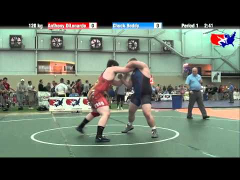 Anthony DiLonardo vs. Chuck Boddy at 2013 ASICS University Nationals - FS
