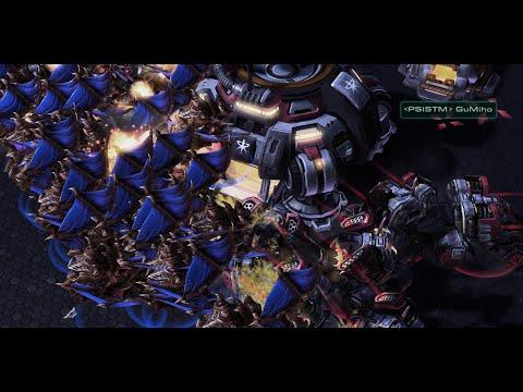 WEIRD MECH! GuMiho (T) vs Leenock (Z) on Romanticide - StarCraft 2 - 2021